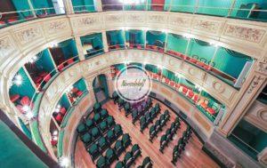 Mi0201 location teatro epoca centro zona duomo milano press day shooting video eventi aziendali mostre d'arte sfilate fashion week MFW fuori salone MDW meeting nonsololoft