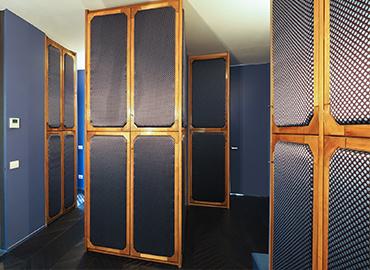 MI0213 location video shooting libreria ampio soggiorno luminoso terrazza cucina sala da pranzo minimal design milano nonsololoft