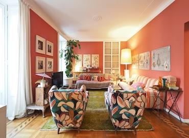 MI0216 location video shooting orientale contemporaneo soggiorno ampio sala da pranzo zona porta venezia milano-nonsololoft